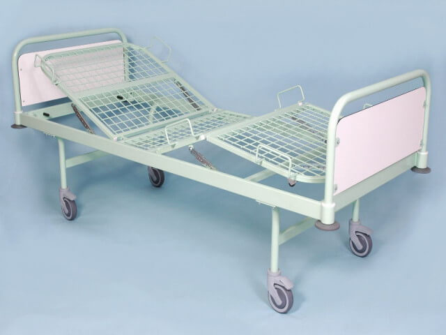 Polohovacia posteľ pojazdná